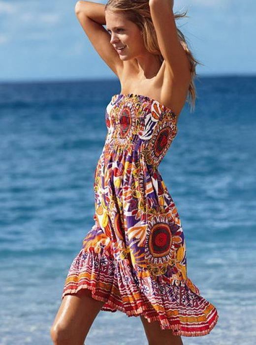 Summer dresses for the beach photo